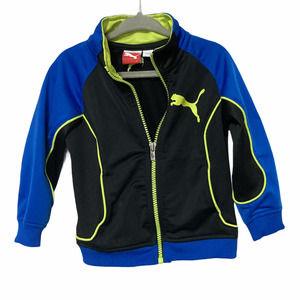 Puma Toddler Boys Track Full Zip Jacket Size 2T